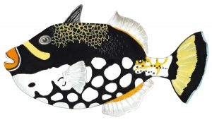 Luipaardtrekkervis – Clown triggerfish